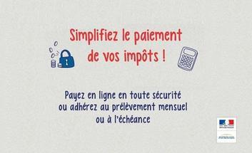Impots Paiement Du Premier Acompte Provisionnel D Impot Sur Le