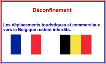Covid 19 Les Deplacements Touristiques Et Commerciaux Vers La Belgique Restent Interdits La Prefecture Et Les Services De L Etat En Region Hauts De France