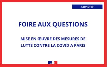 Covid 19 Foire Aux Questions La Prefecture Et Les Services De L Etat En Region Ile De France