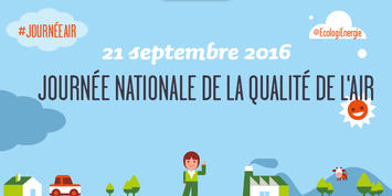 "Visuel ""21 septembre 2016 : journée nationale de la qualité de l'air"""