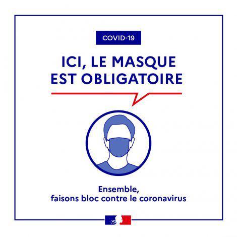 Port Du Masque Obligatoire Des Supports De Communication Pour Vous Aider La Prefecture Et Les Services De L Etat En Region Provence Alpes Cote D Azur