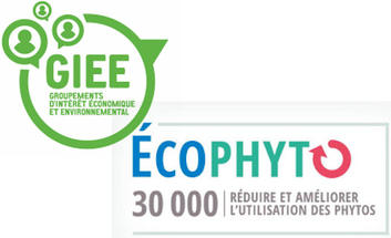 Les logos GIEE et Groupes 30 000 Ecophyto